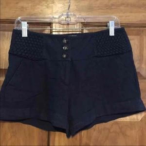 Charlotte Russe Navy Blue shorts, size 8